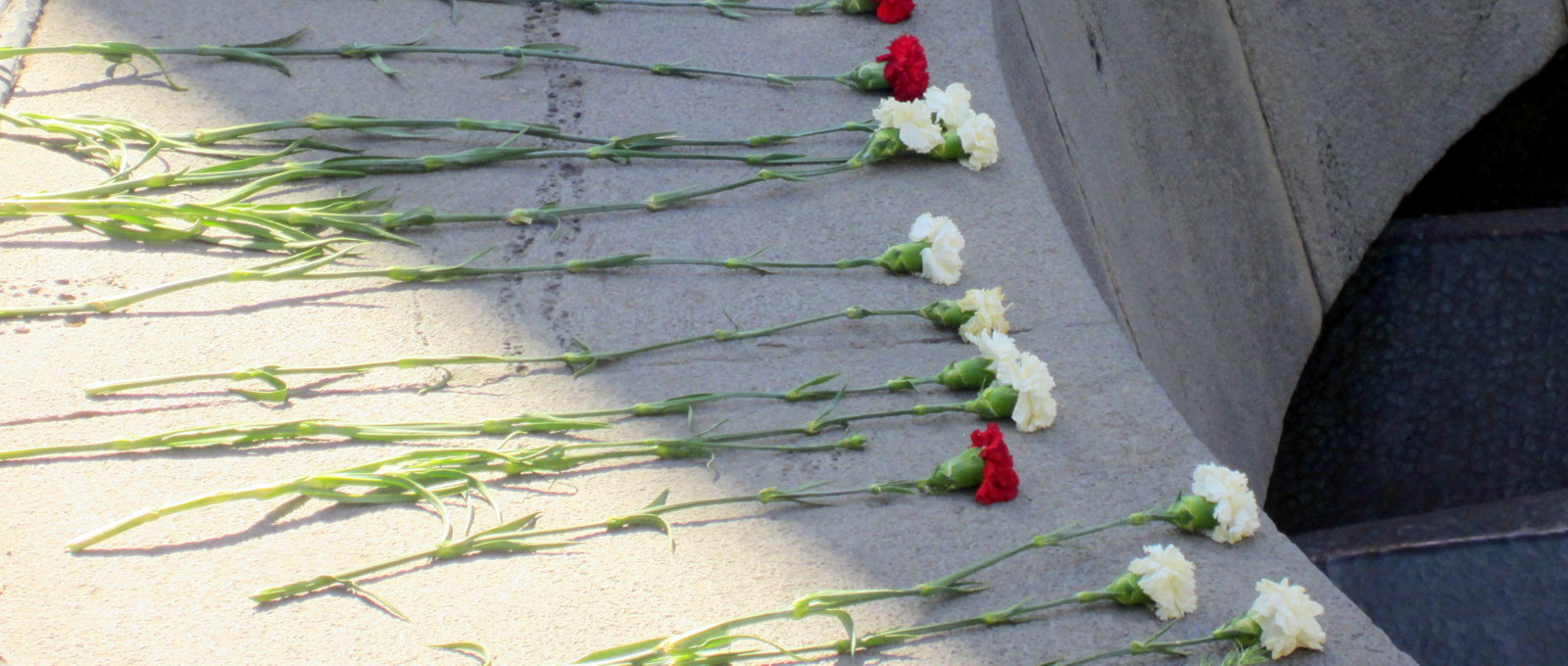 Kansanmurhan muistomerkki Jerevan Armenia