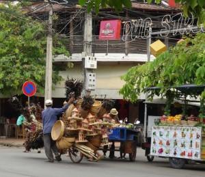 Siem Reap katunäkymä