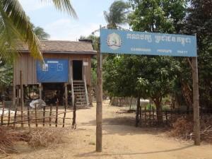 Tolppataloja Kambodzan maaseudulla 1