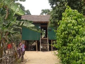 Tolppataloja Kambodzan maaseudulla 3