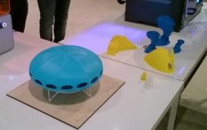 Ufo 3D-tulosteena Emma