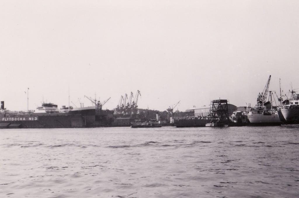 1947 Göterborg satama