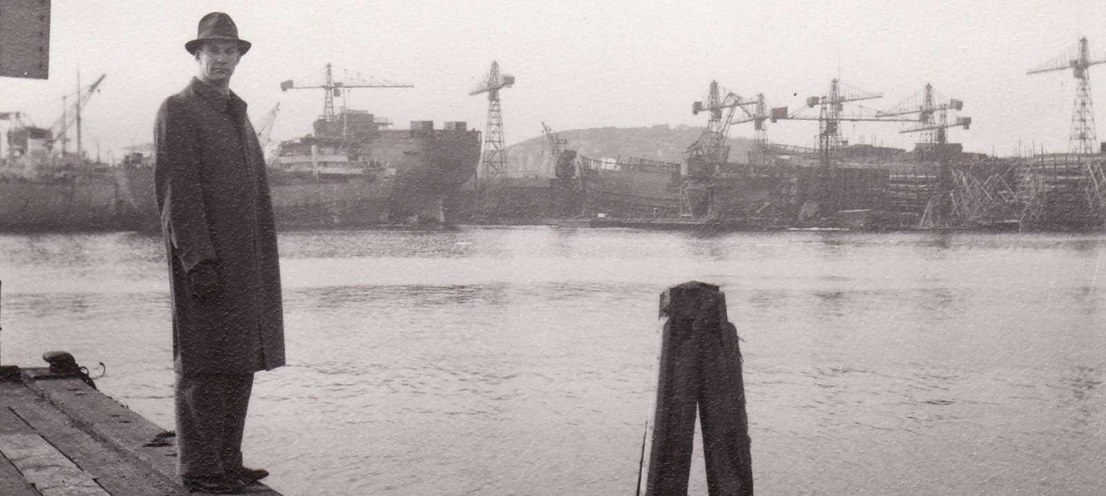 Göteborg satama 1947