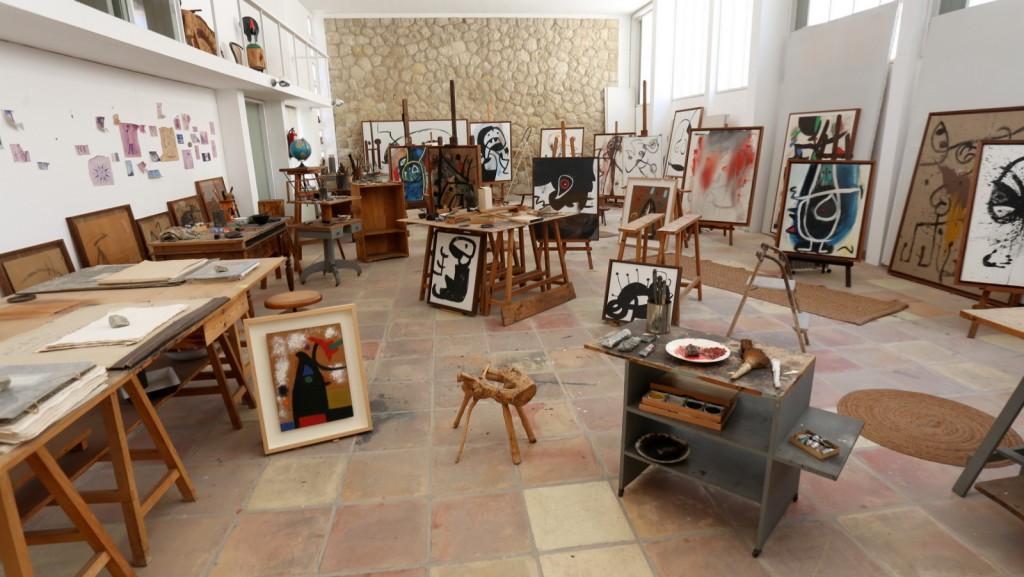 Mirón ateljee Palma de Mallorca
