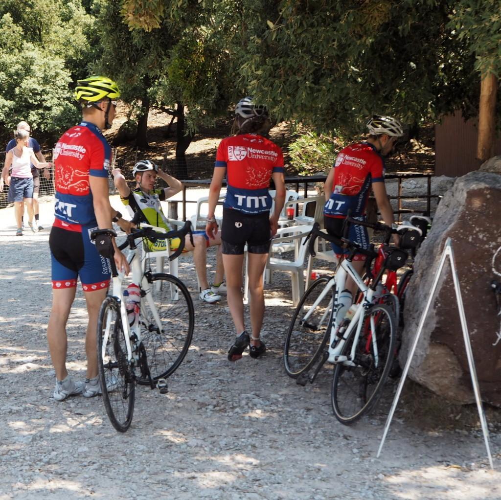 Serra de Tramuntana pyöräilijöitä