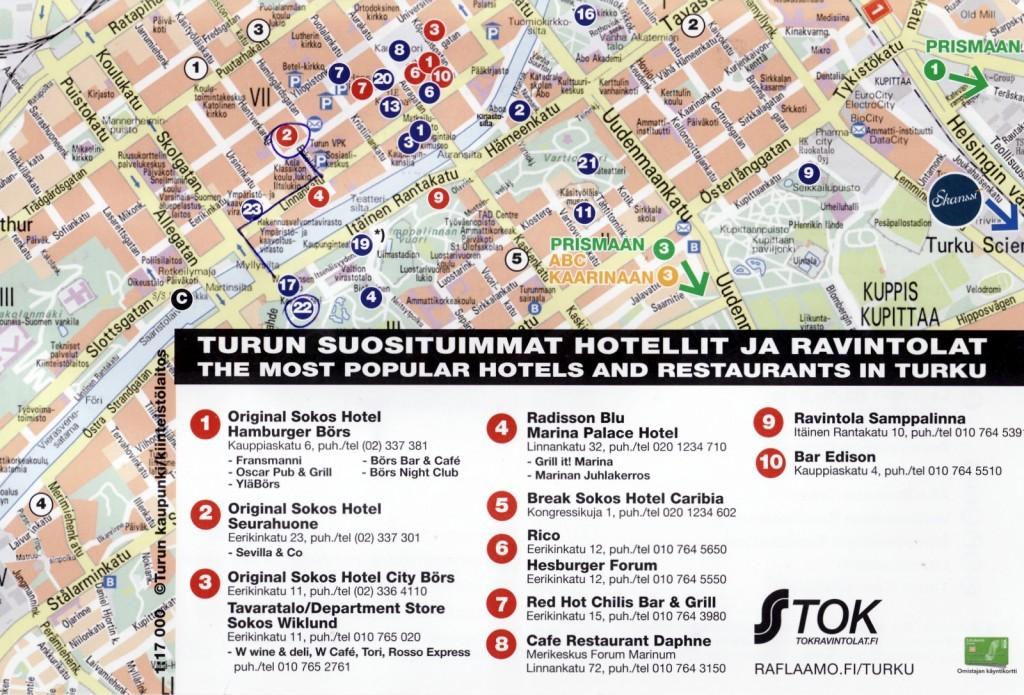 Turun hotelleja