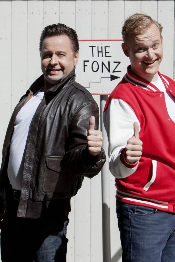 Samppalinnan kesäteatteri Fonzie ja Richie