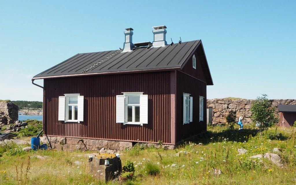 Gustavsvärn sumusireeninhoitajan talo