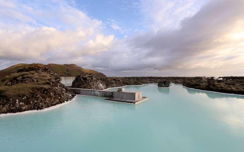 Blue Lagoon hotellivieraiden allas