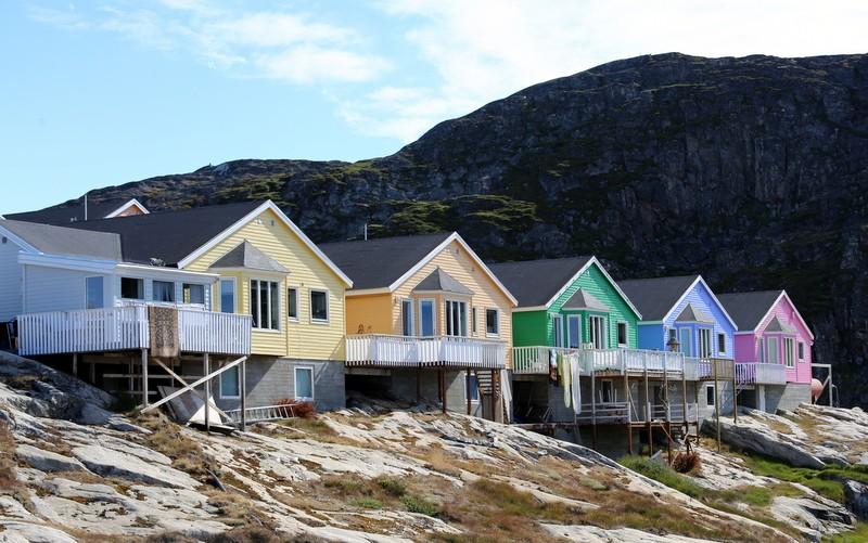 Ilulissat Seven Sisters Grönlanti