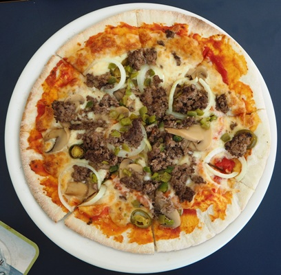 Myskihärkäpizza
