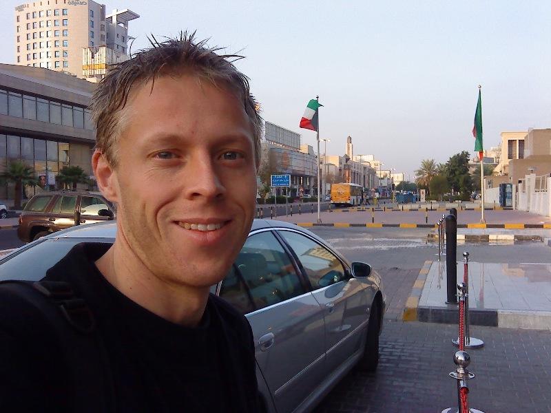 Gunnar in Kuwait