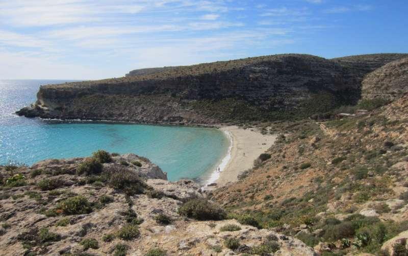 The Rabbit Beach Lampedusa