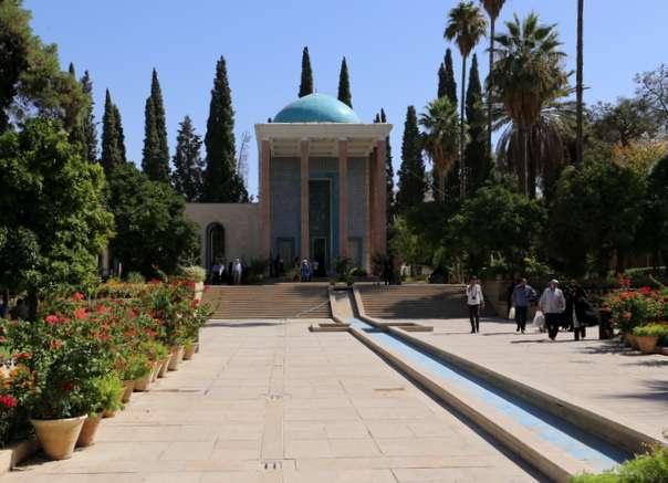 Sa'din hautamauseleumi Shiraz Persia