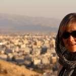 Iranilaisten kanssa Shirazin illassa