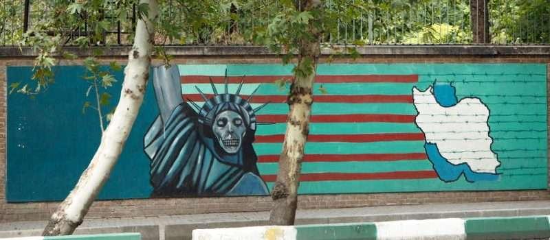 Iran Teheran Down with USA