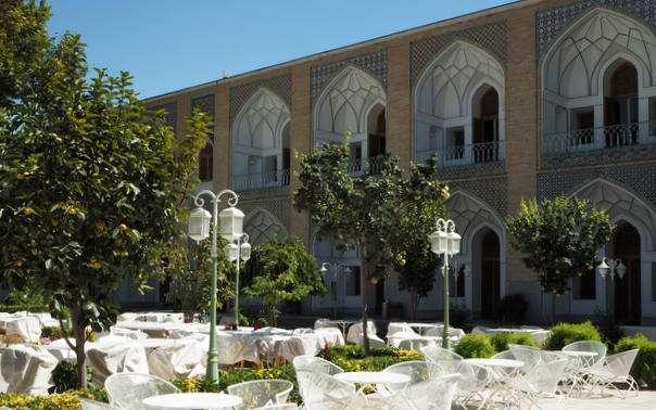 Abbasi hotelli Isfahna