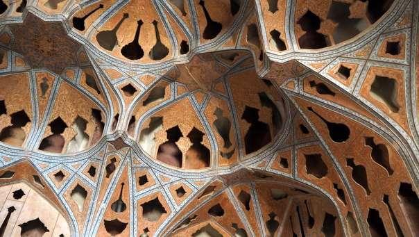Shaahin palatsi Isfahan musiikkihuone