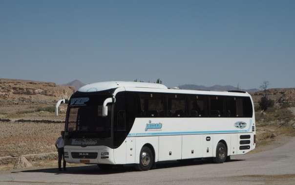 Olympia bussi Iran