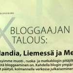 Bloggaajan talous