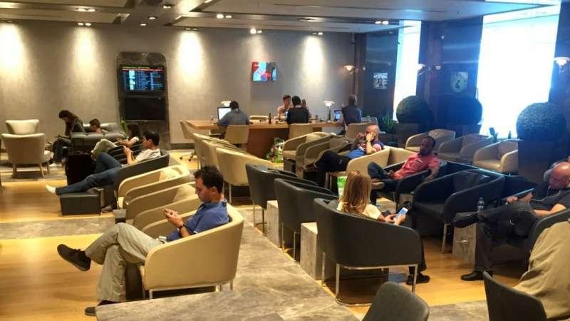 Lounge Istanbulin lentokentällä