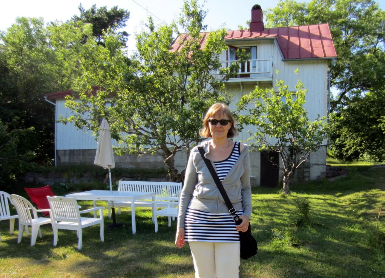 Simskäla Anni Blomqvistin kotitalo