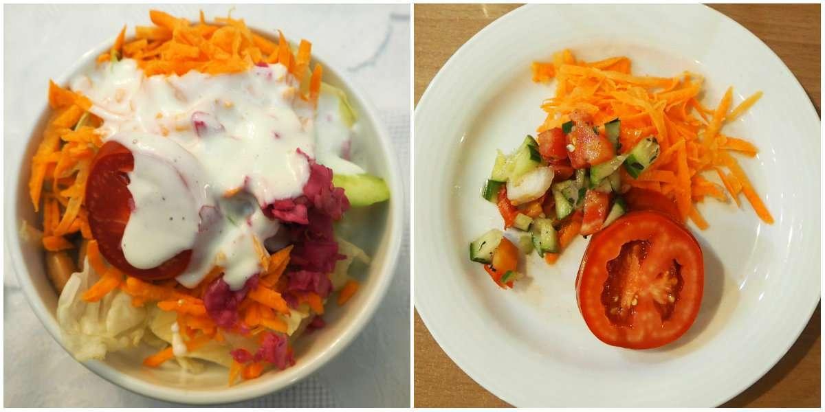 Iran salads