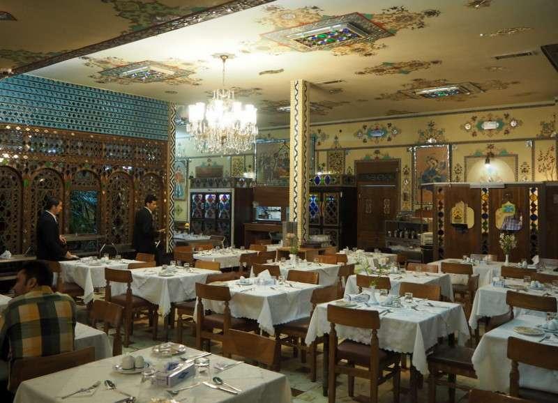 Shahrzad restaurant Isfahan