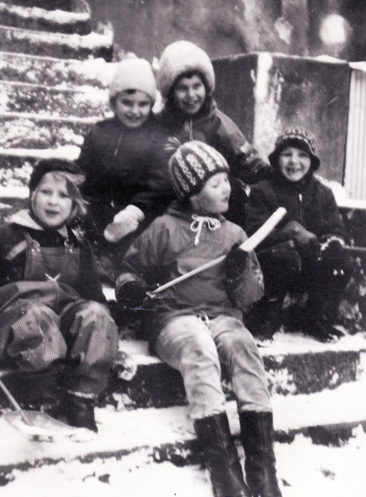 Reginan pihalla 1965