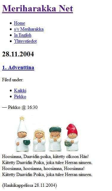 Meriharakka.net 2004