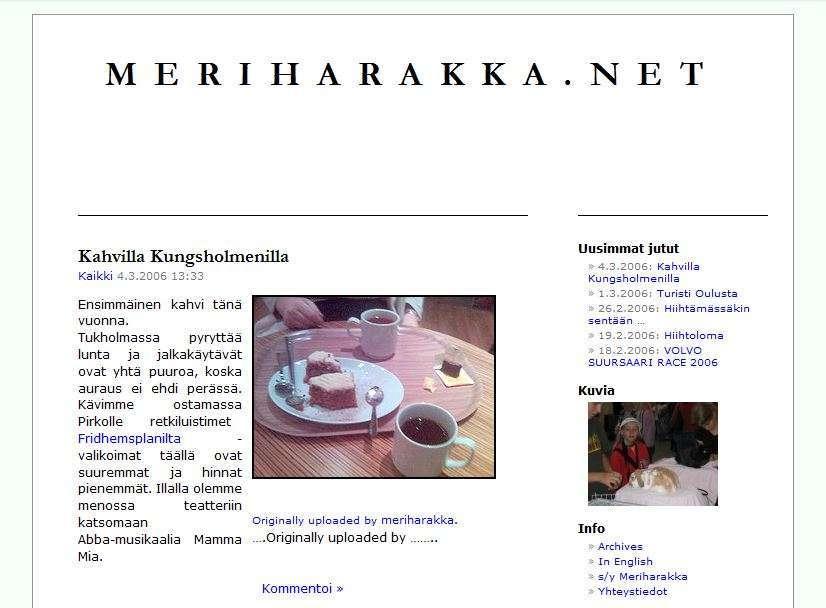 Meriharakka.net 2006