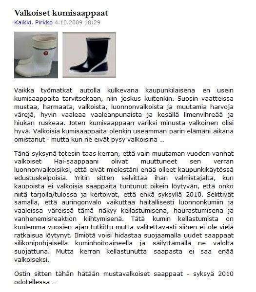 Meriharakka.net 2009