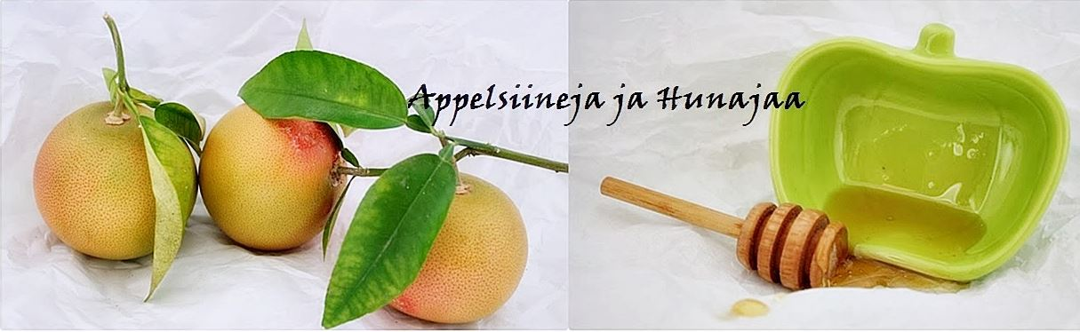 Appelsiinejajahunajaa