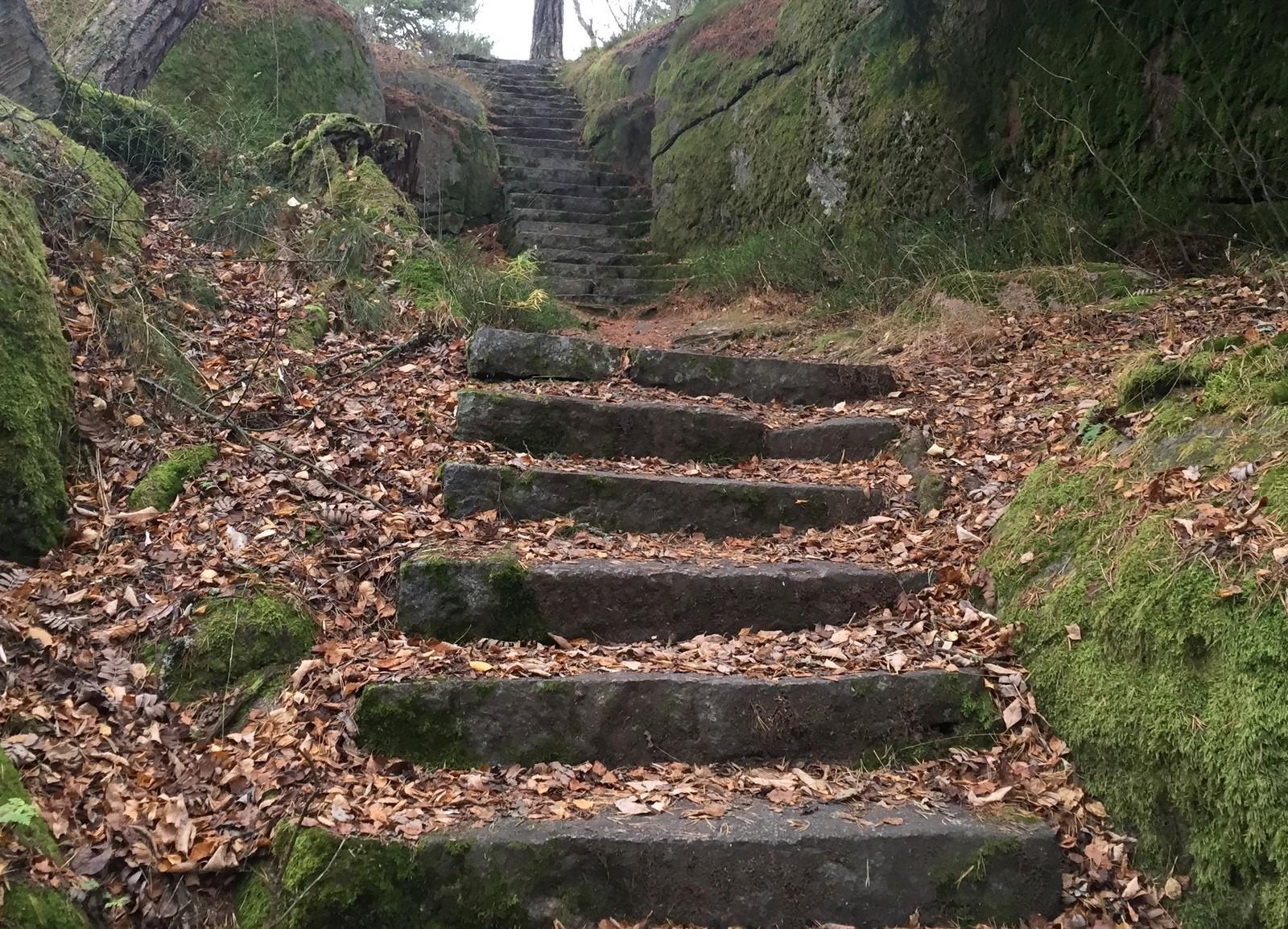 Rakkauden polku portaat Hanko 2015