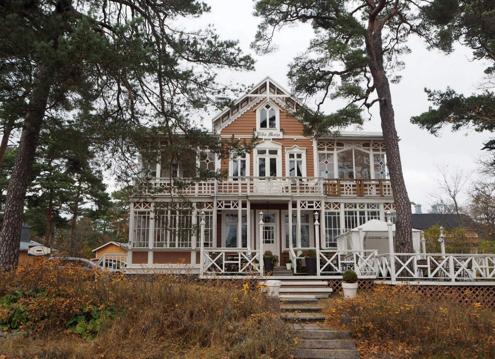 Villa Maija syksyllä 2015