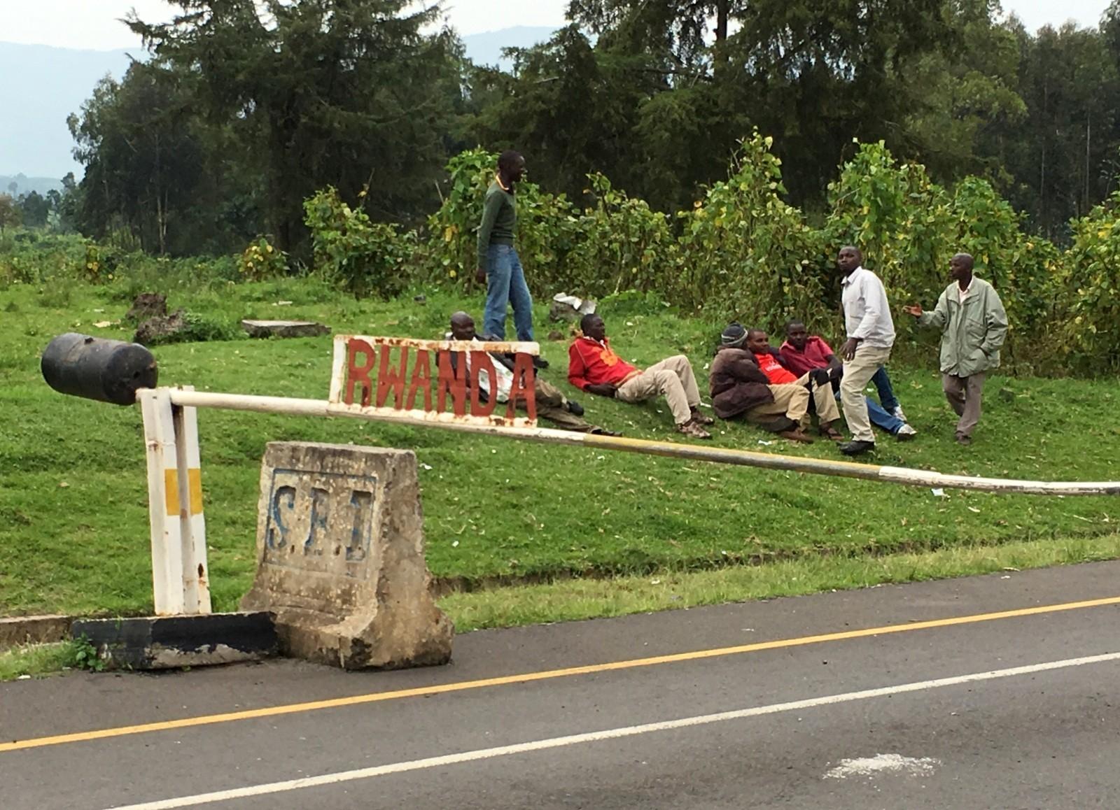 Uganda-Rwanda border