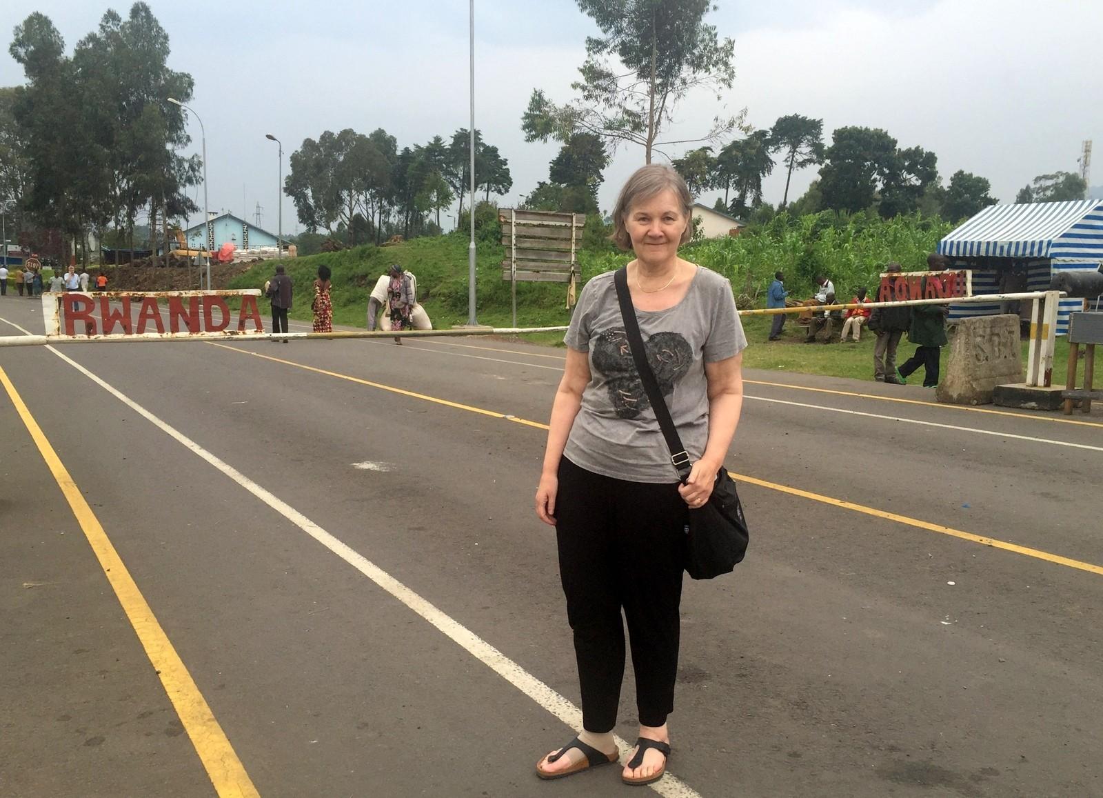 Ruandan ja Ugandan rajalla