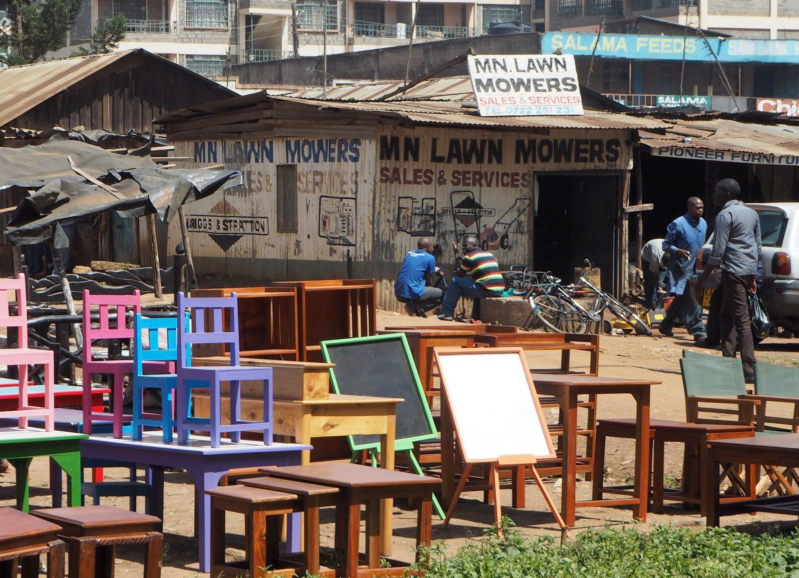 Nairobi katumarkkinat