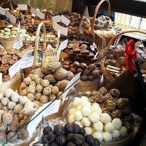Suklaakauppa Kiovassa