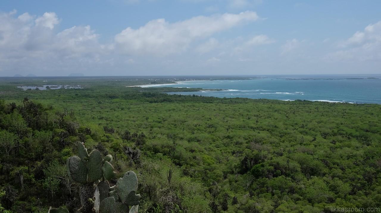 Vihreää Galapagosta