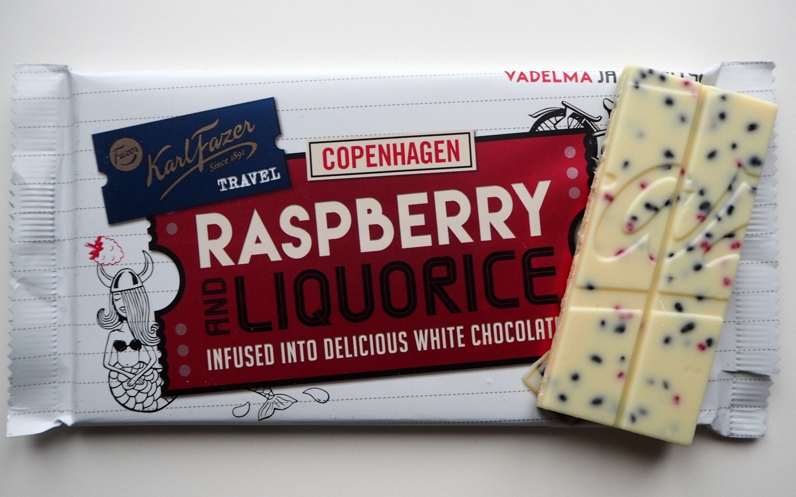 Fazer Raspberry Liquorice