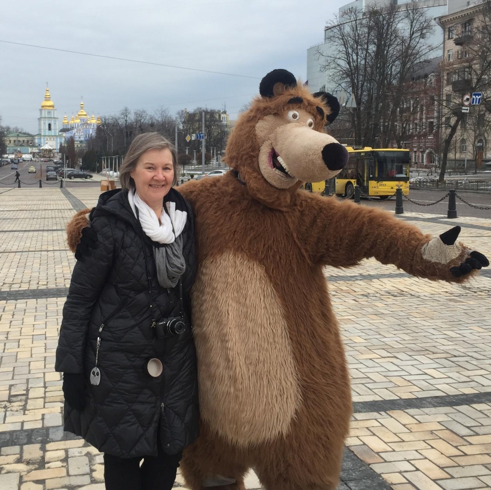 Kiova ja turistit