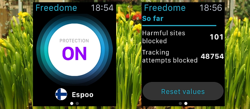 Freedome feature
