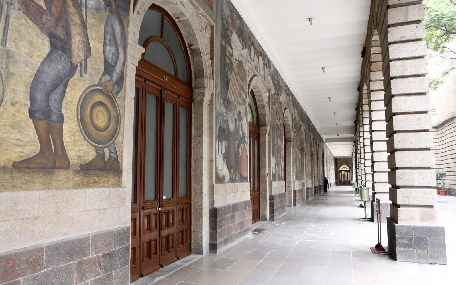 Diego Riveran muraaleja Meksiko