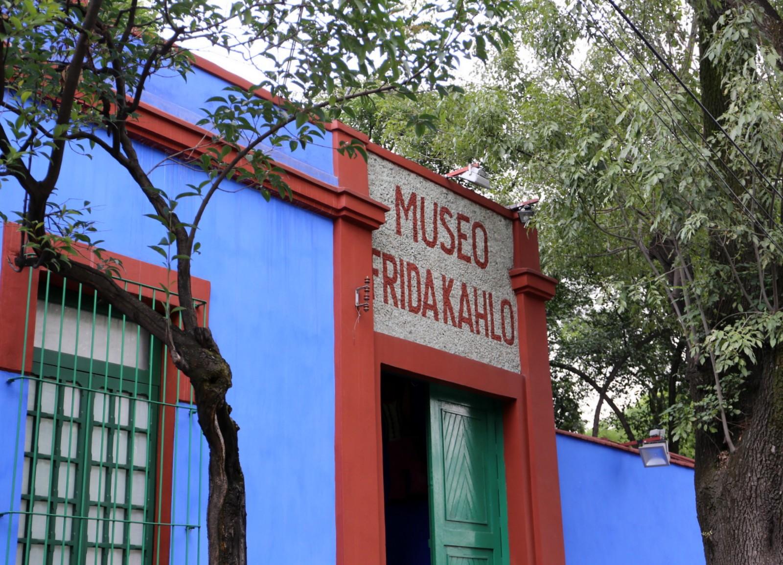 Frida Kahlo museo Meksiko