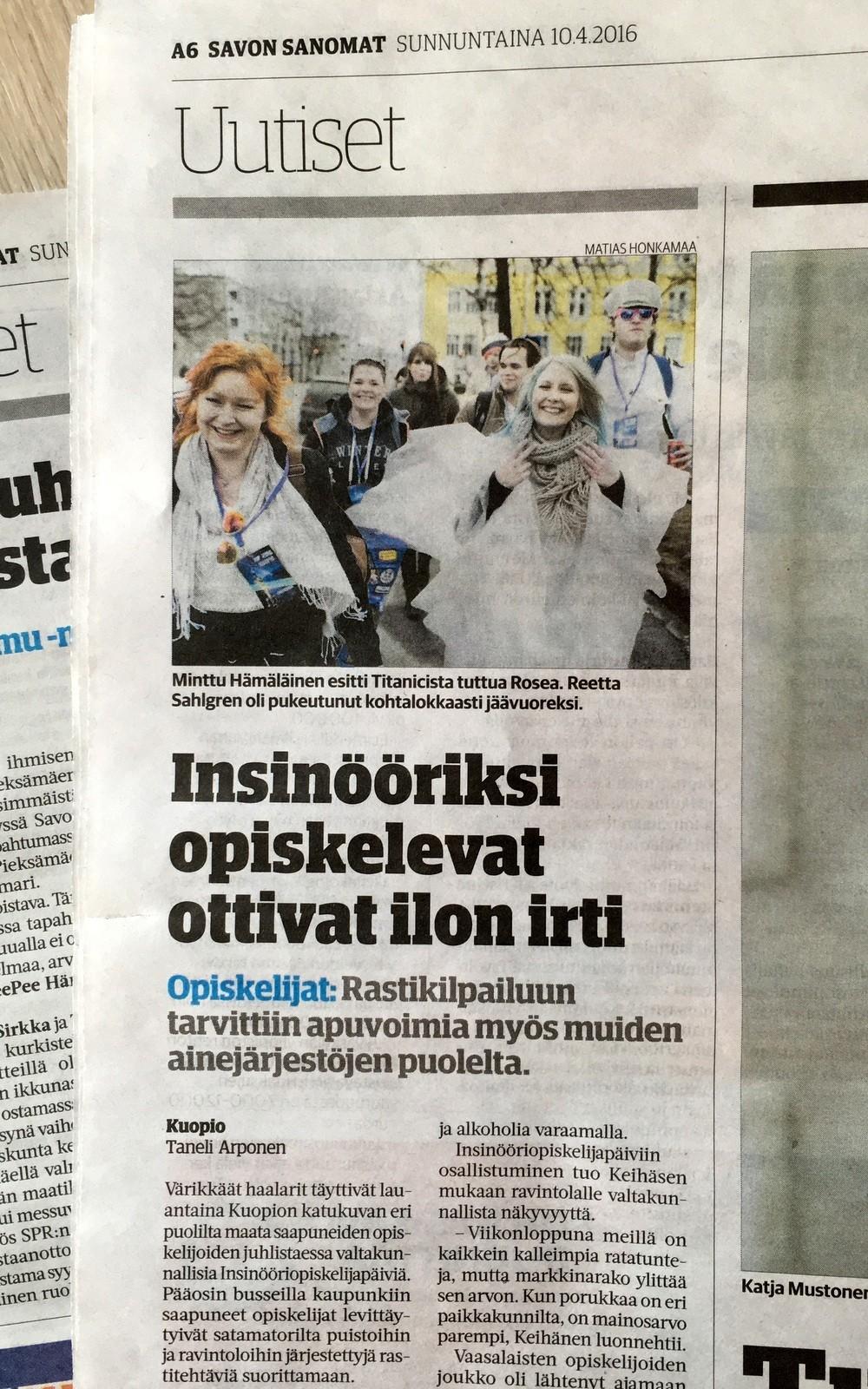 IOP 2016 Kuopiossa