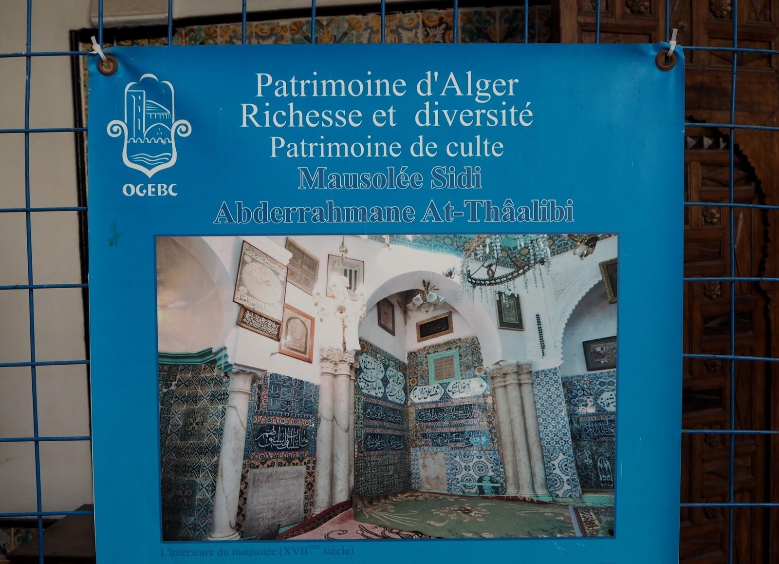 Algier casbah mausoleum sidi