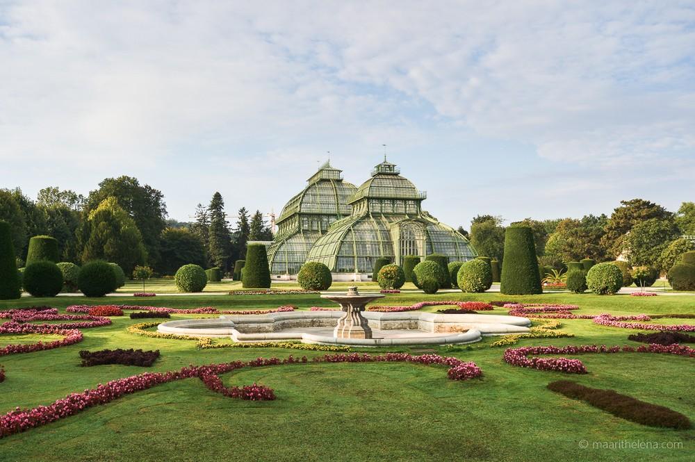 Schönbrunn puutarha