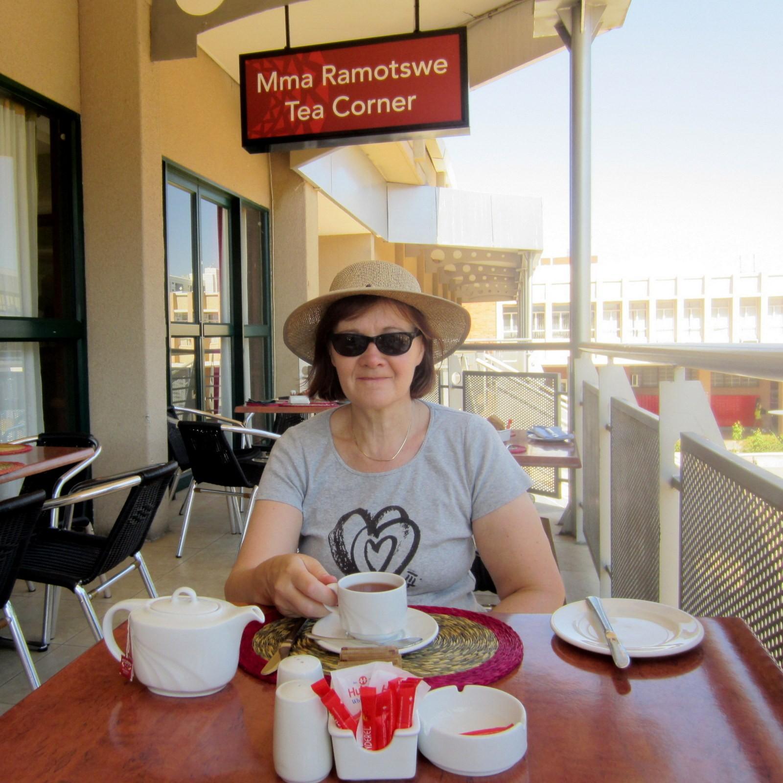 Mma Ramotswe Tea Corner Gaborone