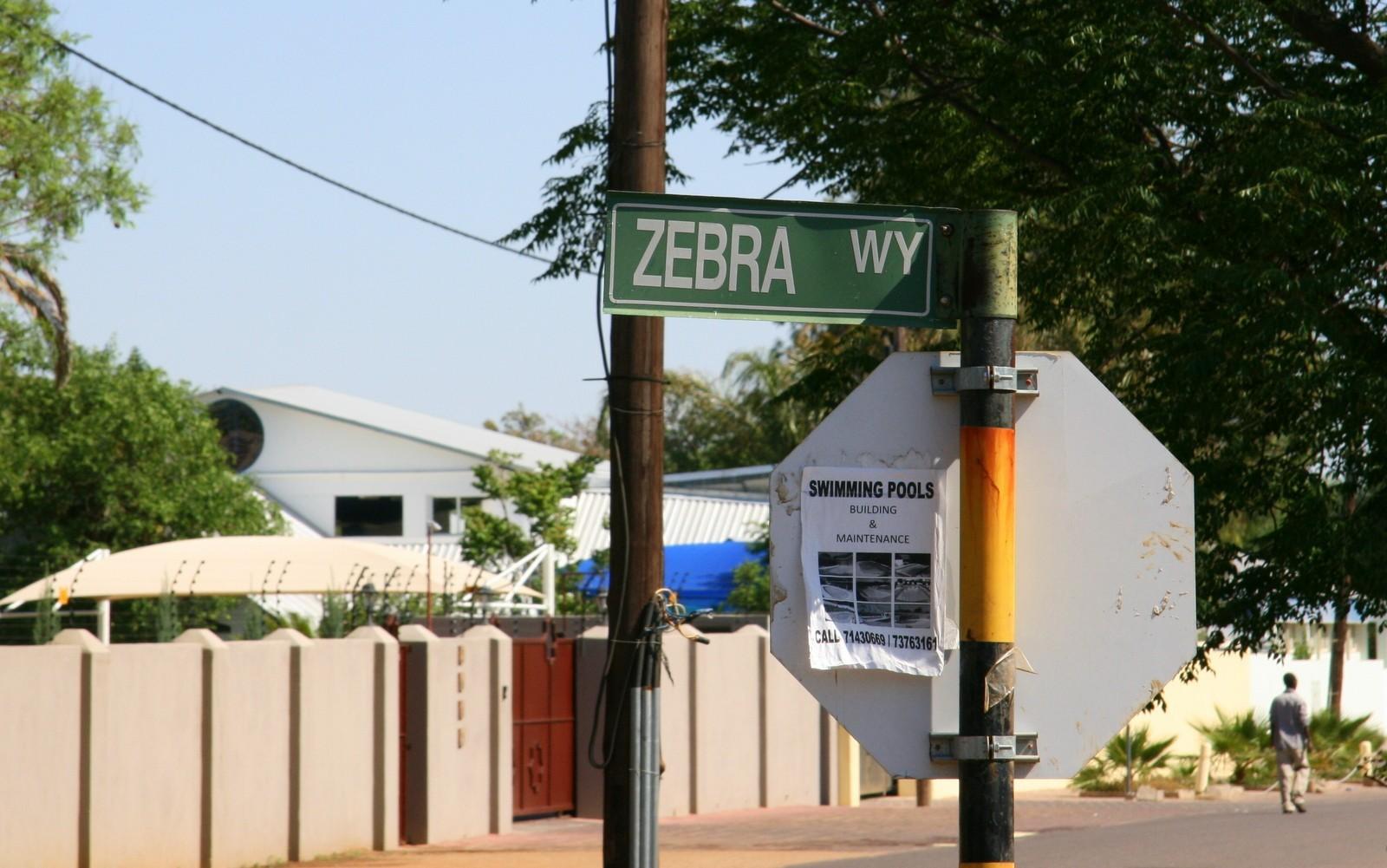 Zebra Drive, Gaborone, Botswana
